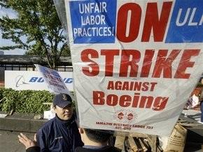 Boeing договорился о прекращении забастовки