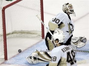 NHL: Федотенко снова отличился за Пингвинов