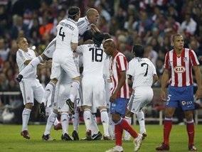 Реал побеждает в мадридском дерби