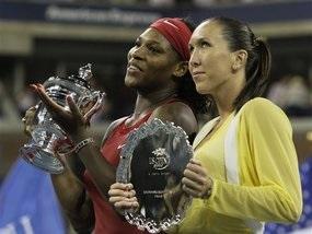 Серена Уильямс в третий раз выиграла US Open
