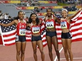 Естафета: Американки стали чемпіонками