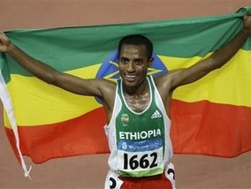 Бег: Эфиоп стал чемпионом Олимпиады