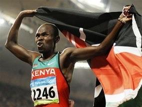 Бег: Кениец завоевал золотую медаль