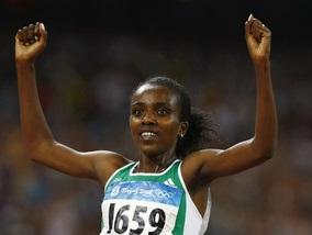 Эфиопия выигрывает золото и бронзу в беге на 5000 метров