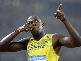 Усейн Болт побил мировой рекорд