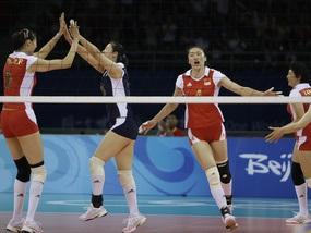 Волейбол: Китаянки вышли в полуфинал