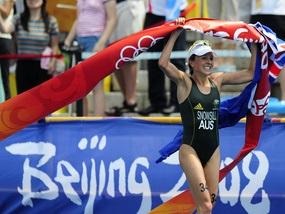 Триатлон: Первое золото дня досталось Австралии