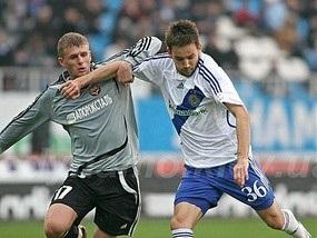 Динамо обыгрывает запорожский Металлург