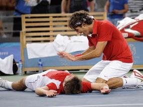 Федерер став олімпійським чемпіоном