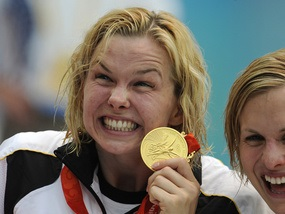 Плавание: Немка выиграла 100-метровку вольным стилем