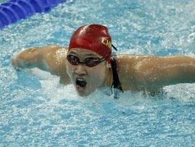 Китай выигрывает первое золото в плавании