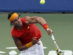 Теннис: Надаль побеждает, россияне выбывают