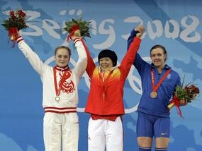 Украинская тяжелоатлетка выиграла бронзу Олимпиады-2008