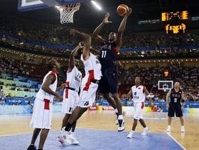 Баскетбол: Американцы устраивают дежурный погром