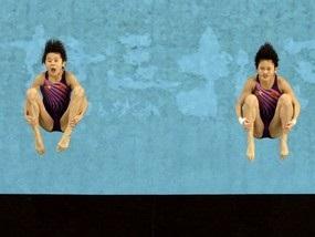 Прыжки в воду: Китаянки берут новое золото