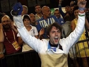 Олимпиада-2008: Итальянский шпажист взял золото