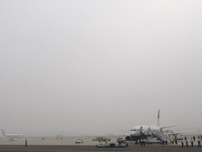 Пекинский аэропорт закроется в день открытия Олимпиады-2008