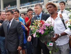 Самуэль Это'О прибыл в Узбекистан