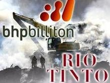 BHP Billiton получило разрешение купить Rio Tinto