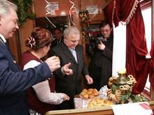 В Москву из Донецка отправилась Троянда Донбасу