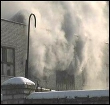 Склади Союз-Віктана у момент пожежі були практично порожніми