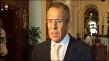 Лавров звинуватив Україну в порушенні постачань газу до Європи