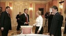 Тимошенко обговорила з Ющенком свої шанси стати прем'єром