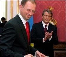 ЗМІ: Яценюк уже обговорив із Ющенком голосування по кандидатурі Тимошенко
