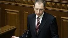 Яценюк: Парламент сьогодні не буде обирати прем'єра