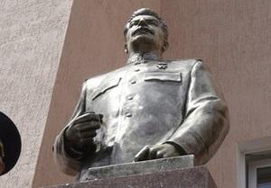 В Одессе отложили установку памятника Сталину