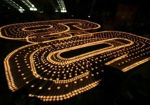 Тьма ради света: украинские города погружаются в темноту в рамках всемирной акции Час Земли