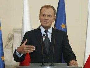 Туск  призвал ЕС помочь Украине преодолеть эпидемию гриппа