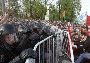 МВД РФ: Участники акции на Болотной избили журналистов НТВ