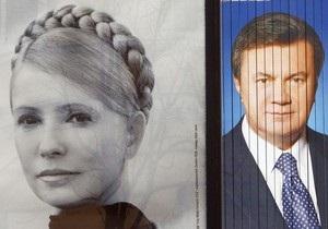 Янукович не явился на теледебаты с Тимошенко