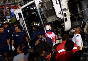 В Мексике разбился автобус с паломниками, погибли 14 человек