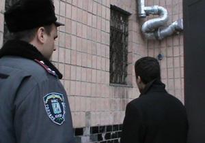 Задержан подозреваемый в ограблении киевского банка