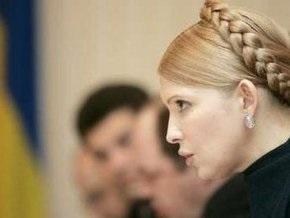 Тимошенко объяснила срыв переговоров с Россией попытками сохранить RosUkrEnergo