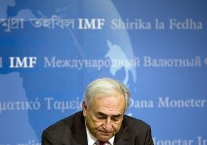 Стросс-Кан выразил надежду, что сотрудничество Украины и МВФ вскоре возобновится
