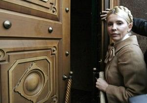 Тимошенко: Пшонка - крыша для всех преступлений власти