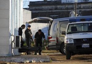 В уругвайской тюрьме произошел пожар: погибли 12 заключенных