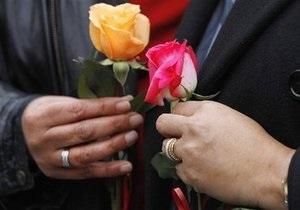 Власти Вашингтона поженили 150 пар гомосексуалистов