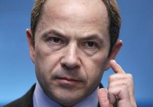 Опубликованный в СМИ проект Налогового кодекса не был согласован с Тигипко