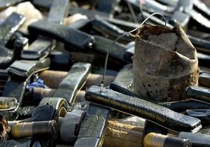 Киевлянин хранил в своей квартире арсенал оружия