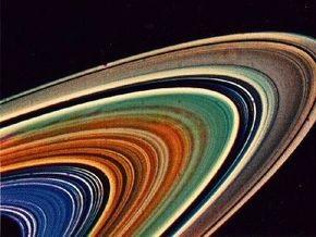 Кольца Сатурна могут быть остатками Луны