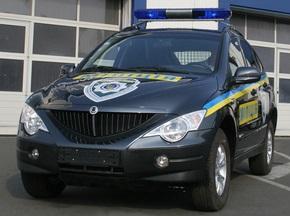 Внедорожники Аctyon на службе в МВД