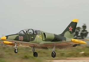 В Чехии разбился учебный истребитель ВВС страны