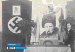 Российский телеканал назвал Шевченко русофобом,  чьи портреты ставили рядом с портретами Гитлера