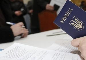 Украинцы начали голосовать на местных выборах