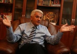 Литвин: Решение КС не может отменить даже Бог
