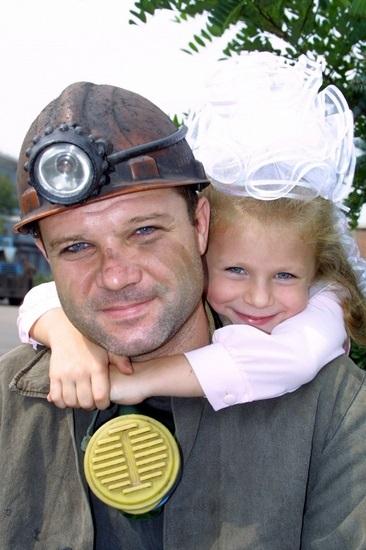 семья шахтера фото другом